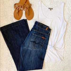 7 For All Mankind || Ginger Flare